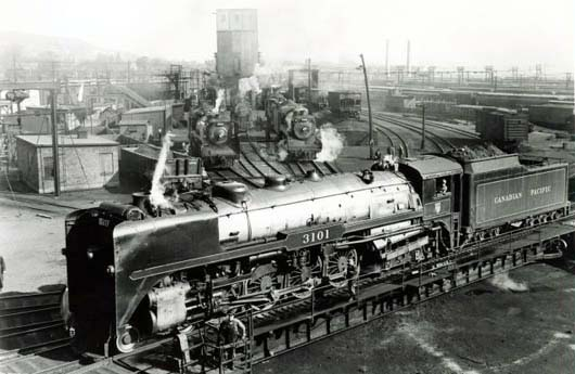 Image result for canadian pacific northern steam locomotive