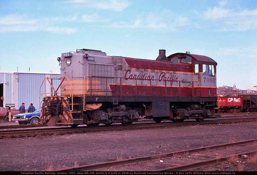 OKthePK - Early Canadian Pacific Diesel-Electric Locomotives
