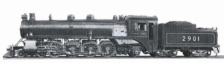 Image result for canadian pacific 4-8-2 mountain