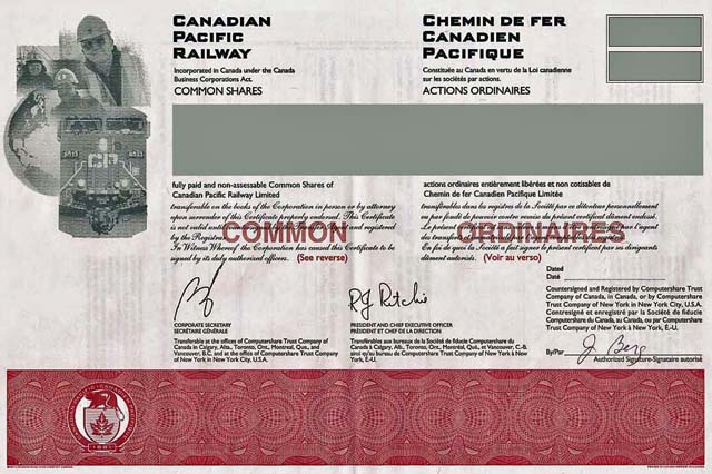 Found an old stock certificate, not sure if it\'s a worth anything ...